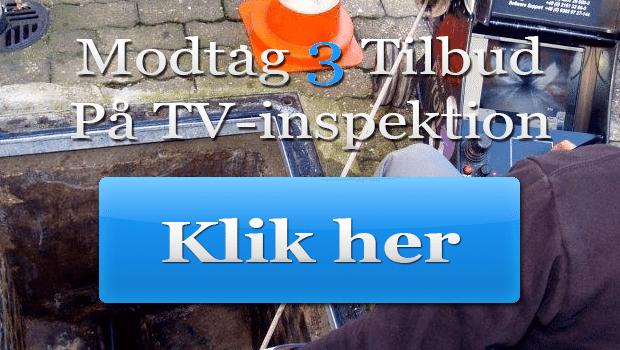 Tv-inspektion af kloak - Gør det selv eller modtag 3 gratis tilbud