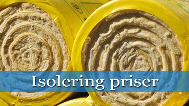 isolering priser thumpnail