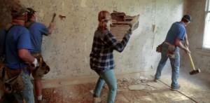 nedrivning af væg-2