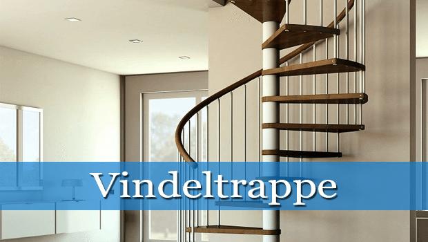 Vindeltrappe ? Bliver brugt oftere i moderne hjem