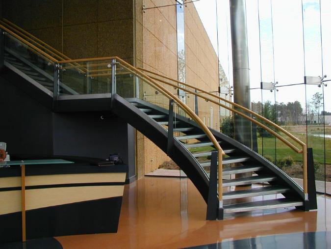 Gelænder til trappen   modtag 3 gratis tilbud