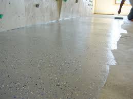 Maling af betongulv garage