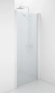 Ifö Space 2000 Brusevæg i frostet glas