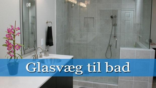 badeværelse glasvæg Glasvæg bad   Få et lækkert badeområde eller brusehjørne   Byg og Hjem badeværelse glasvæg