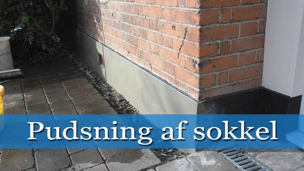Pudsning af sokkel under terræn – Jem og fix gas ombytning