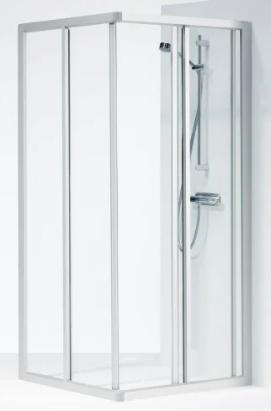 IFØ Solid model SVH NK 88, rektangulære brusevægge