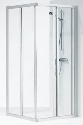IFØ Solid model SVH NK 99, med rektangulære brusevægge