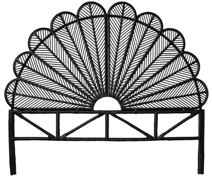 Living&more sengegavl - Peacock - Sort
