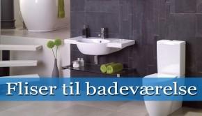 fliser til badeværelse