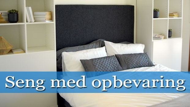 Seng med opbevaring – fÃ¥ plads i soveværelset med skuffer og ...