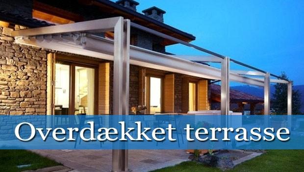 Overdækket terrasse   modtag 3 gratis tilbud