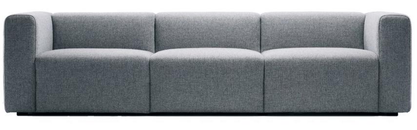 Hay - Mags sofa - 3 personer (grey wool)