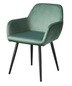 Living&more spisebordsstol - Emma - Grøn