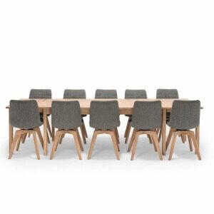 NocNoi spisebordssæt med drejestole