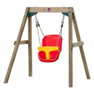 Plum gyngesæt - Gyngestativ i træ til babyer