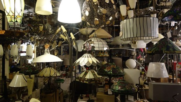 Lampe butik
