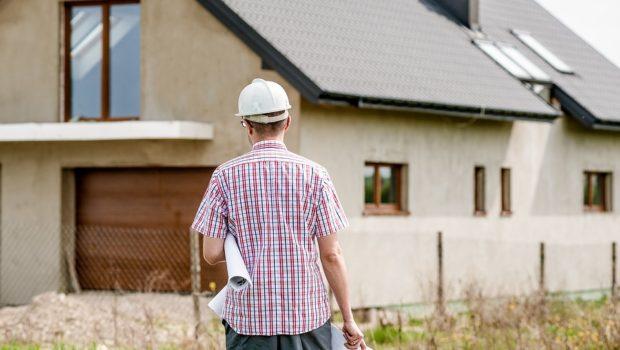 Klar til renovering af huset