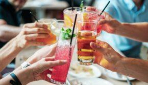 Kolde drinks til sommerfest