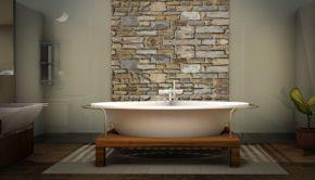 Renoveret badeværelse