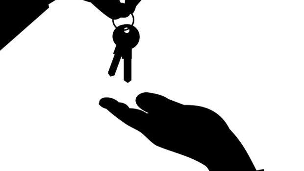Nøgler til bolig der skifter ejer