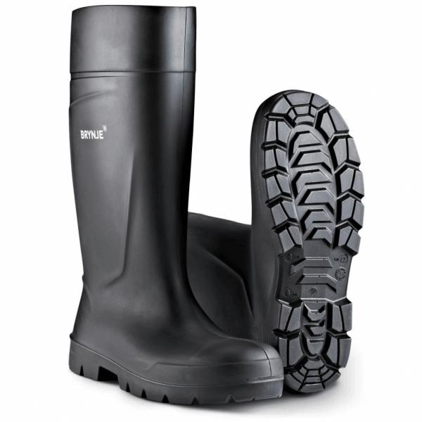 Sort Solid Sikkerhedsgummistøvle – den bedste sikkerhedssko til regnvejr